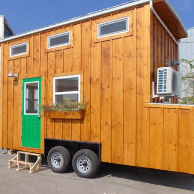 tiny house envy green living