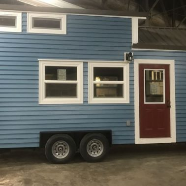 Tiny House Envy Seattle Blue