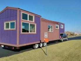 tiny house envy purple monster