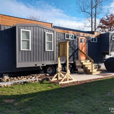 tiny house envy with slides
