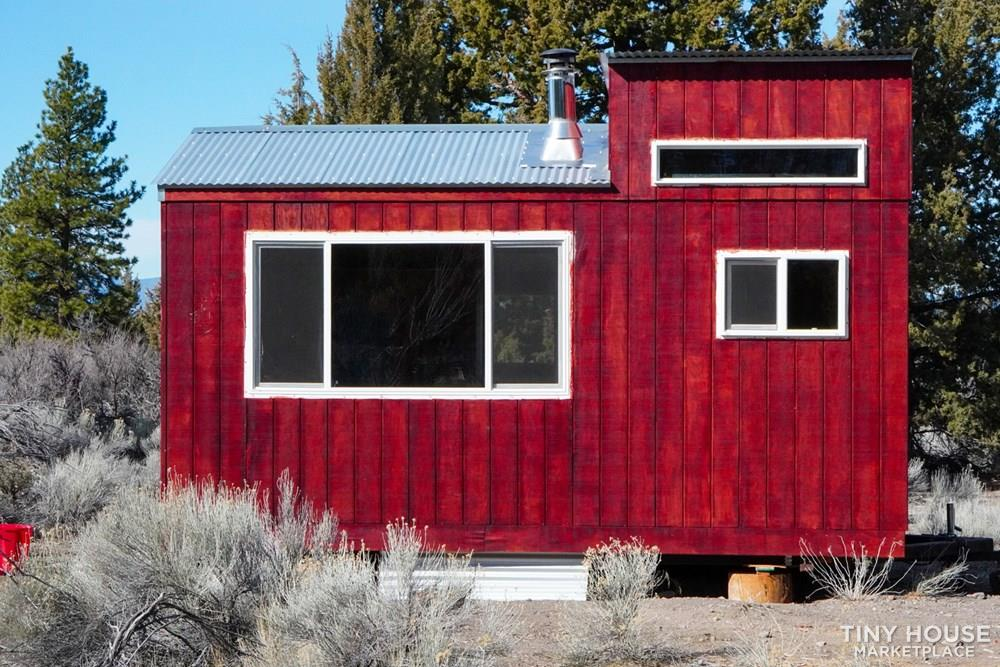 Tiny House Envy Red Cabin