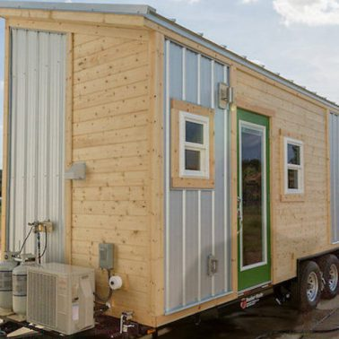 Tiny House Envy shed style roof