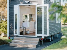 tiny house open end