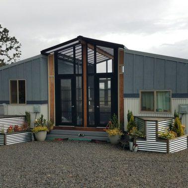 double tiny house