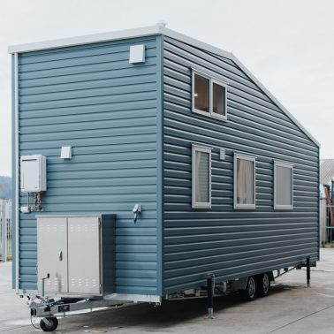 tiny house with office