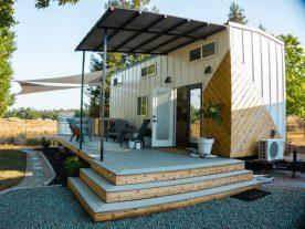 Tiny House outdoor kitchen