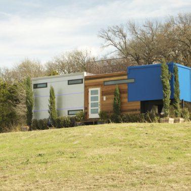 futuristic tiny house