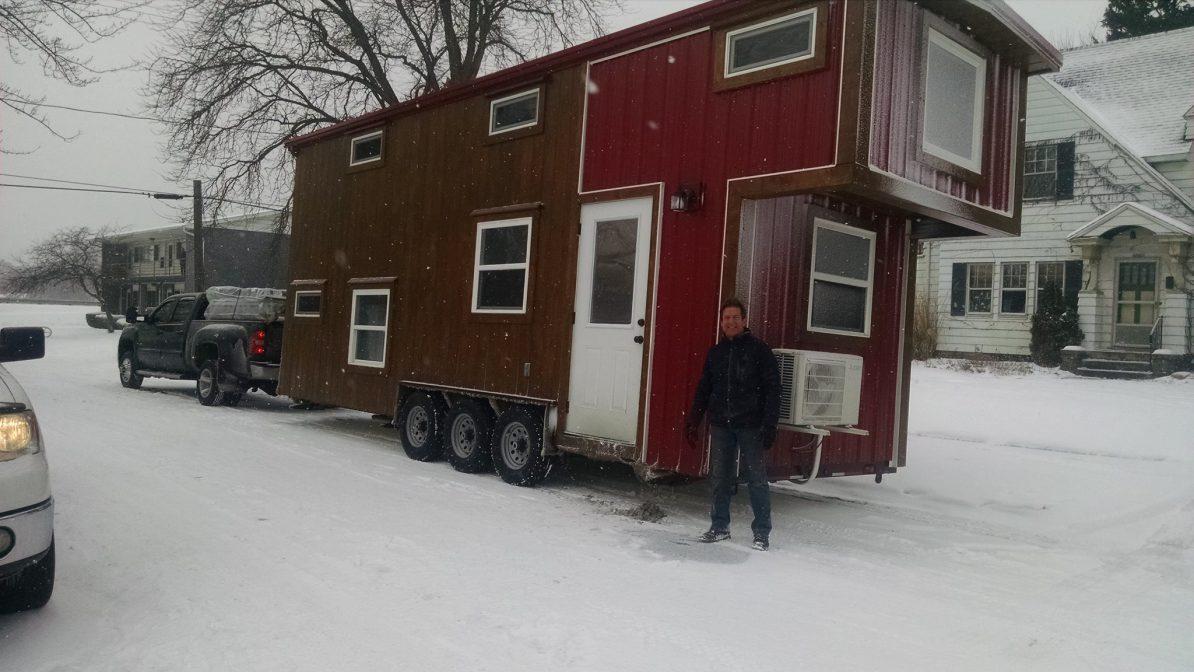 tiny house gooseneck