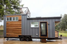 mid century tiny house