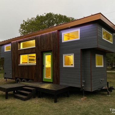 10' wide tiny house