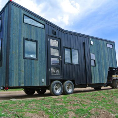 butterfly roof tiny house