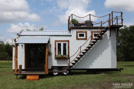 tiny house top deck