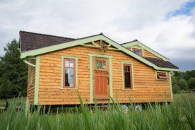 old world tiny house