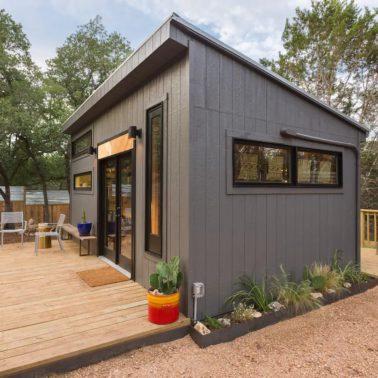 Back yard tiny house